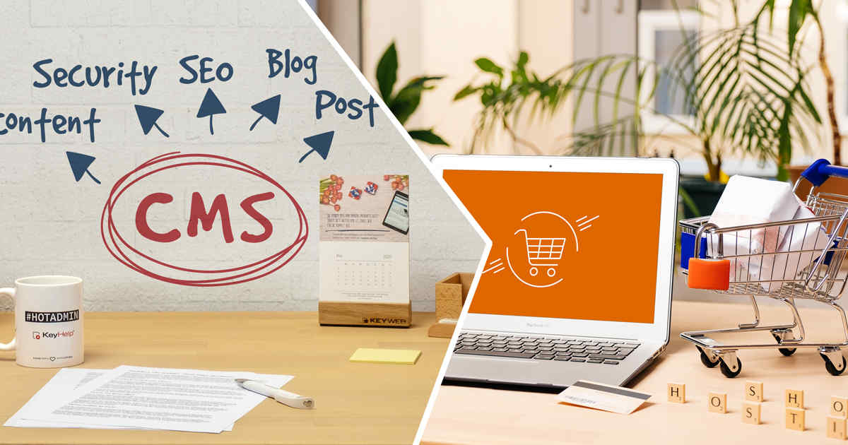 CMS-Hosting & Shop-Hosting bei Keyweb