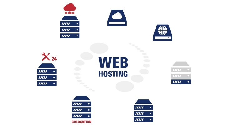 Illustration Webhosting