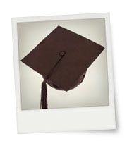 Instant print of Graduation Cap