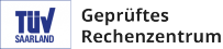 TÜV-Saarland geprüftes Rechenzentrum konform mit ISO 27001 und ISO 27002
