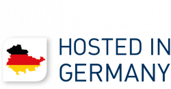 Logo Hosted in Germany