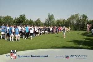 1st Sponsor Tournament, presented by Keyweb