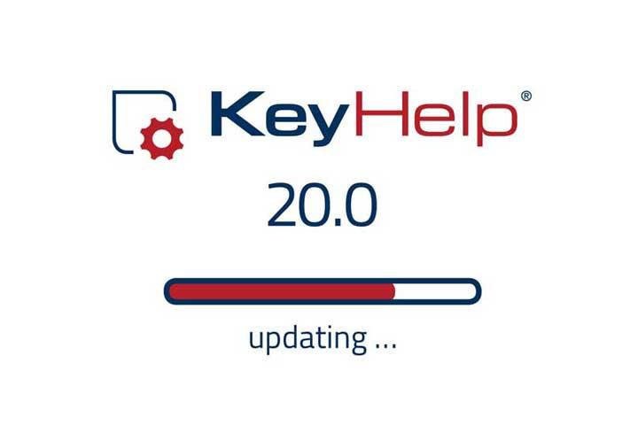 KeyHelp Logo with update bar