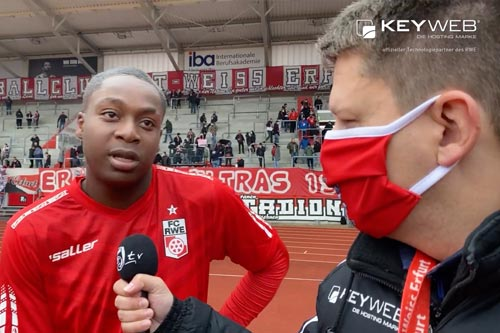 Interview situation of RWE.tv